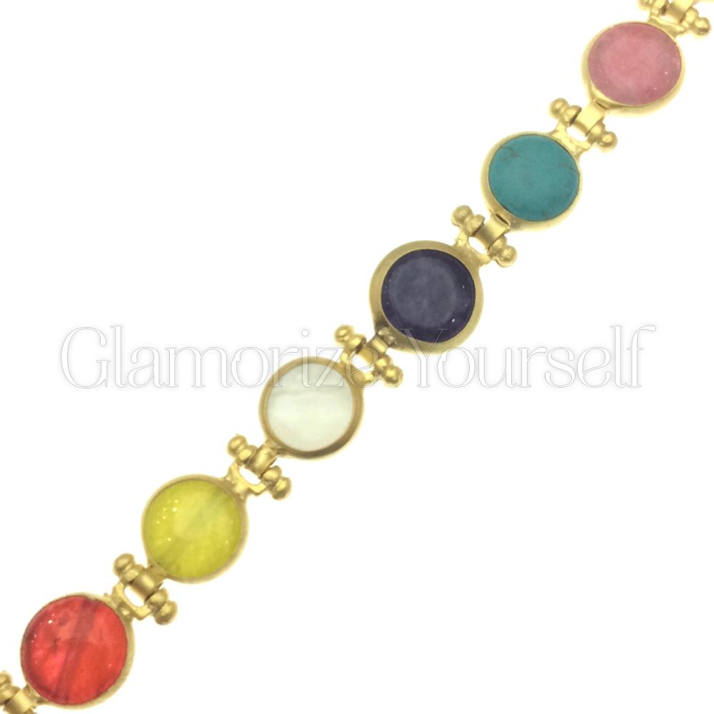 Gold Plated Artisan Jewelry Bijoux Turkish Bracelet Glamorize Yourself