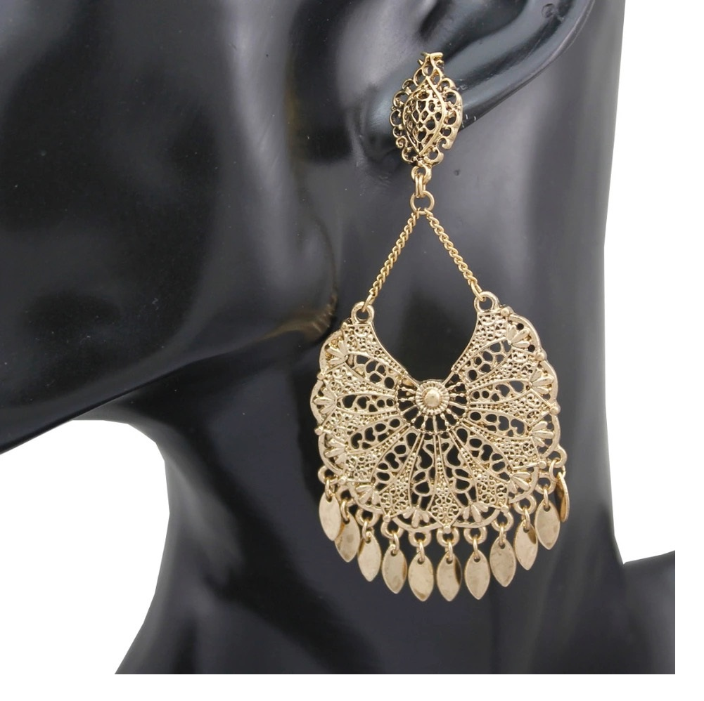 Modern mexican chandelier earrings gift fantastic diy chandelier mexican gold chandelier earrings earrings mozeypictures Images