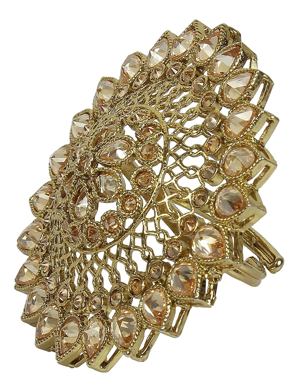 Party Wear Traditional Royal Look Big Ring For Women In